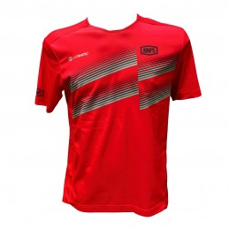 MAILLOT 100% AIR MATIC ROUGE
