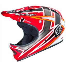 TROY LEE D2 PROVEN RED (M/L)